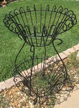 Iron 2 Tier Plant Stand / Vintage in Warner Robins, Georgia