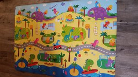 Child''s 4x6 Double-sided Rubber Play Mat in Camp Lejeune, North Carolina