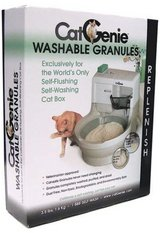 CatGenie Self-Flushing Litter Box Supplies SaniSolution and Washable Granules in Fort Campbell, Kentucky