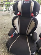 3 Graco car seat /Boster seat in Kingwood, Texas