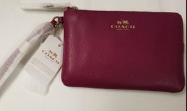 Coach Leather Wrist Purse NWT in Ramstein, Germany