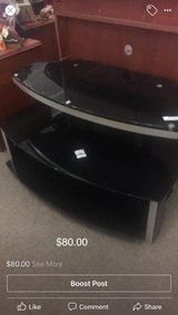 Black TV Stand in Fort Leonard Wood, Missouri