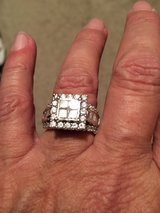 Princess cut ring in Kingwood, Texas
