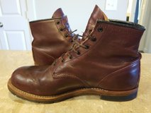 Red Wing Boot Blacksmith size 10.5D Black cherry in Lackland AFB, Texas