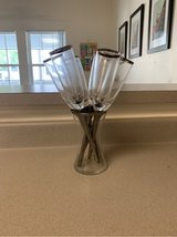champagne flutes in Beaufort, South Carolina