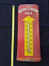 Royal Crown Cola Ad Thermometer in Fort Leonard Wood, Missouri