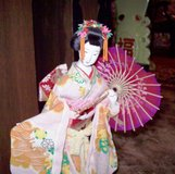 Extreme Rare Vintage Japanese Geisha Doll in Gase..Madam Doll Butterfly Collect in Alamogordo, New Mexico