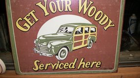 OLD WOODY METAL CAR COLLECTER SIGN in Alamogordo, New Mexico