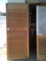 Interior louver doors in Alamogordo, New Mexico
