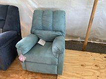 Another Recliner Added to the Tent in Fort Campbell, Kentucky
