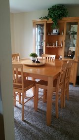 Dining Table w/6 chairs and China Cabinet in Naperville, Illinois