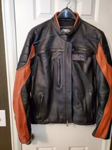Harley Davidson Men's Leather Riding Jacket in Lackland AFB, Texas