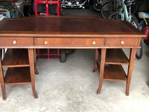 Sturdy solid wood desk in Beaufort, South Carolina
