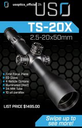 U.S. Optics ts20x in Fort Leonard Wood, Missouri