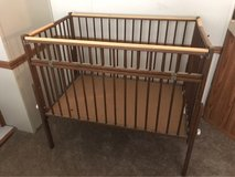 Rare Vintage Wooden Infant Playpen Crib in Kingwood, Texas