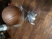 Basketball lamp in Houston, Texas
