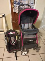 hello kitty carseat and stroller in Alamogordo, New Mexico