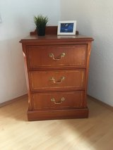 Solid Wood, 3 Drawer Dresser in Ramstein, Germany