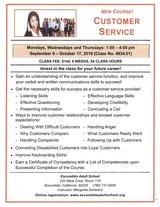 Customer Service Course - resked in Camp Pendleton, California
