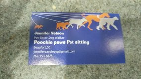 pet sitting services in Beaufort, South Carolina