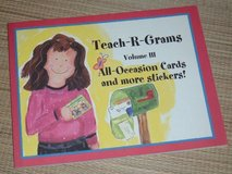 NEW Teach-R-Grams Volume III Soft Cover Book for Teachers in Joliet, Illinois