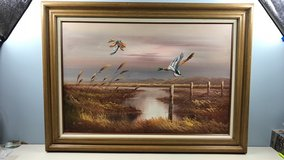 fowl oil painting in Quantico, Virginia