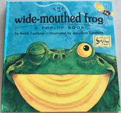 Hardcover The Wide-Mouthed Frog in Okinawa, Japan