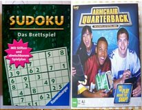 Sudoku & Arm Chair Quarterback in Ramstein, Germany