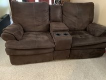 Microfiber brown 4 piece couch set in Fort Belvoir, Virginia
