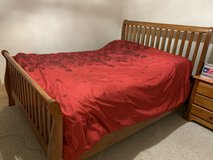 Queen bedroom set includes mattress and boxspring in Fort Belvoir, Virginia