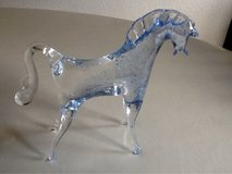 Vintage Murano Art Glass Horse Figurine in Ramstein, Germany