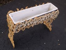 Antique Cast Iron Flower Box Planter in Bartlett, Illinois