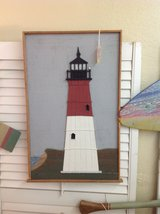 Red & White Lighthouse. 983-28 in Camp Lejeune, North Carolina