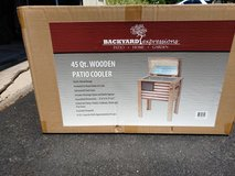 American Flag patio cooler (new) in Westmont, Illinois