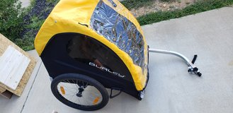 Burley Bee 2 seat bike trailer in Quantico, Virginia