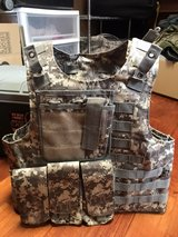 ACU plate carrier with pouches pending pick up in Okinawa, Japan