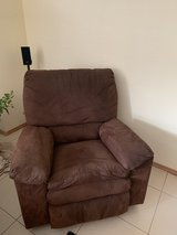 Recliner Brown in Ramstein, Germany