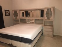 King Bedroom Set - Mattress not included. in Houston, Texas
