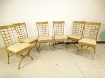 Curule Leg Dining Room Chair Set in Pearland, Texas