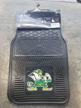 brand new set Notre Dame Car mats in Bel Air, Maryland