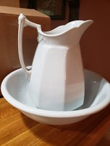 Wash bowl & pitcher in Conroe, Texas