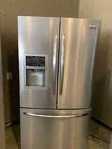 Frigidaire stainless refrigerator in Kingwood, Texas