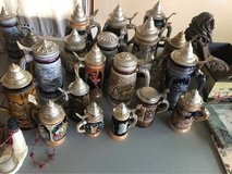 collectible beer steins in Glendale Heights, Illinois