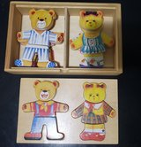 Boys & Girls Bears Wood Clothes Puzzles in Fort Campbell, Kentucky