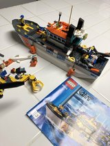 Coast guard legos in Kingwood, Texas