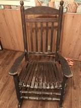 solid wood rocking chair in Beaufort, South Carolina