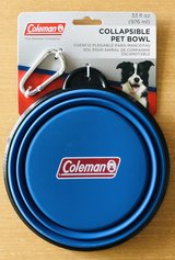 Coleman collapsible dog dish in Plainfield, Illinois