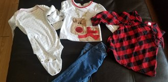 Girl 18 month Christmas clothes in Warner Robins, Georgia