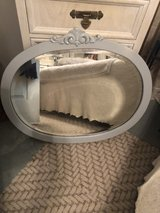 oak antique mirror in Beaufort, South Carolina