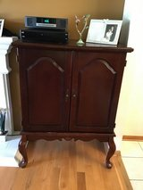 In good condition nice piece to use as a TV area to place all your extra appliances. in Naperville, Illinois
